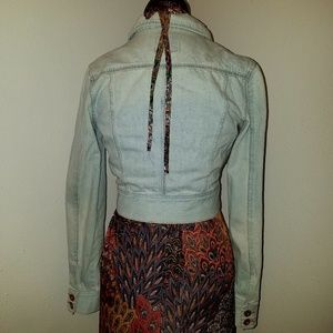 Highway Jeans Jackets & Coats - Cropped Faded Jean Jacket M